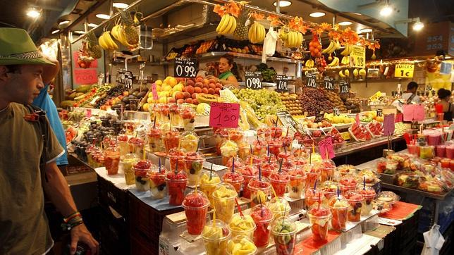 Algunos de los mercados de espa a con m s sabor e historia for Comida mas famosa de francia