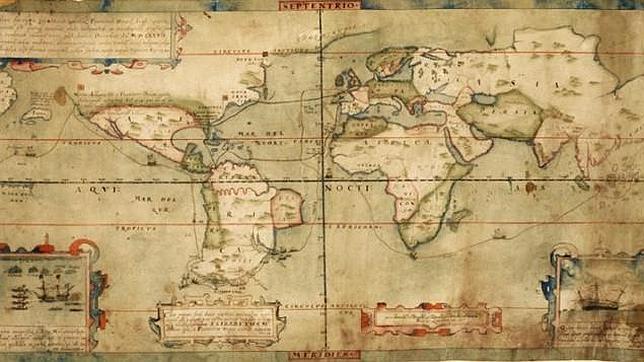 Resultado de imagen de mapa del mundo pirata