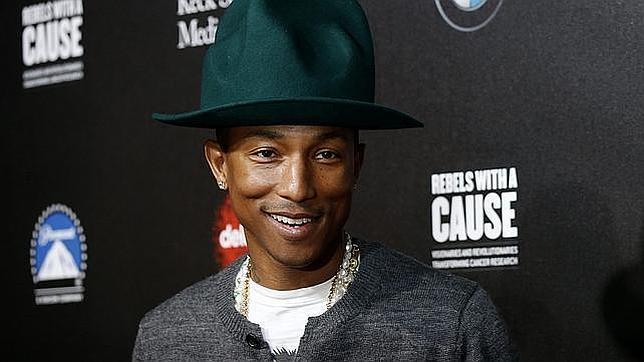 Pharrell Williams, autor del tema «Happy», actuará este otoño en España