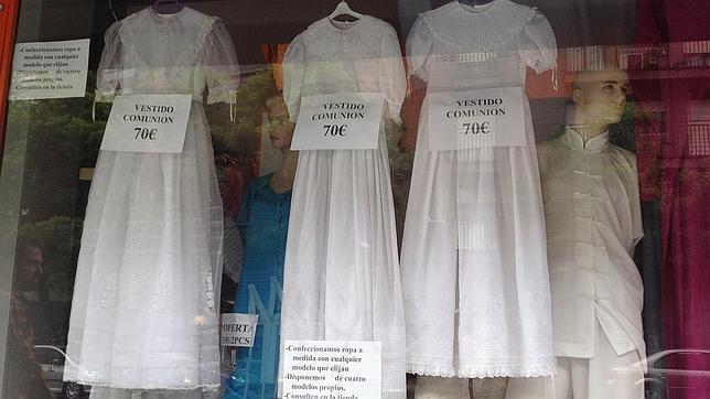 Vestidos de comunion baratos chinos