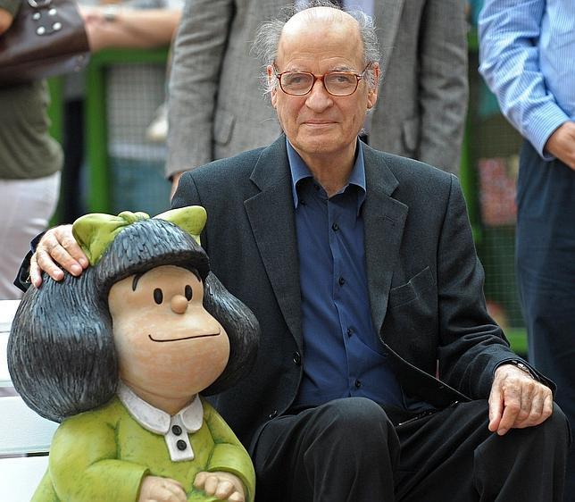 Quino, creador de Mafalda, Premio Príncipe de Asturias de Comunicación y Humanidades 2014
