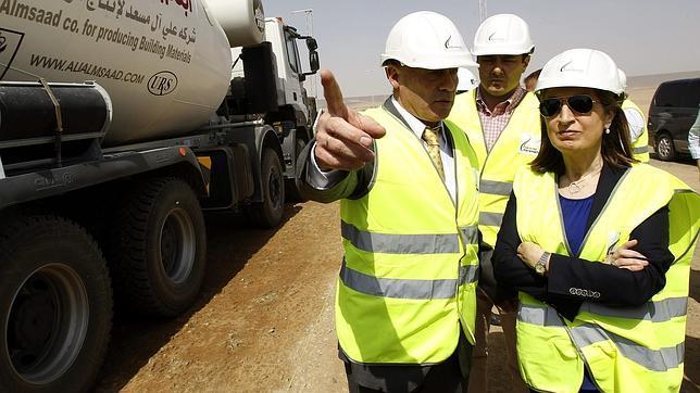 El consorcio de empresas españolas ya ha recibido la plataforma para construir el segundo tramo del proyecto