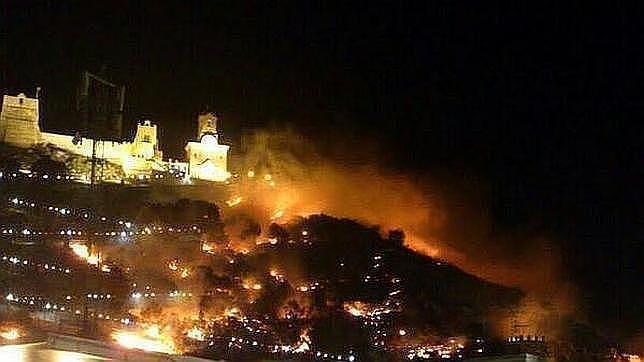 Incendio forestal de Cullera: la Fiscalía pide la imputación del alcalde