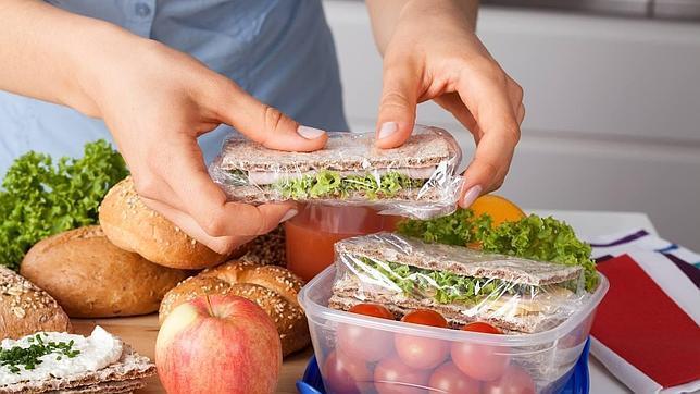 comidas bajas en calorias para llevar al trabajo