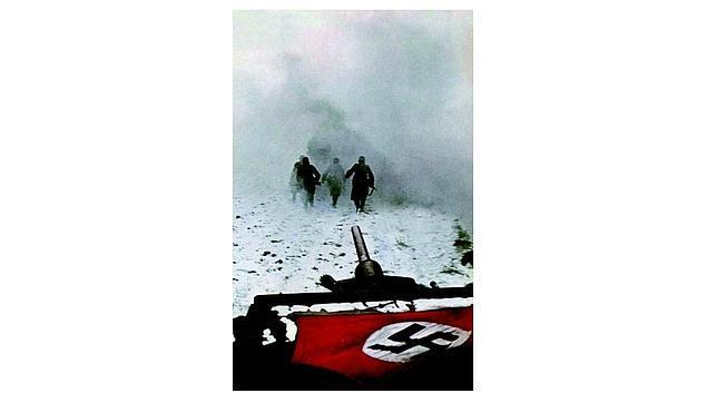 Las primeras nevadas bloquean el avance de las unidades blindadas alemanas
