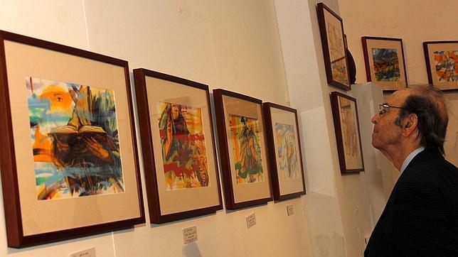 «Las manos del Greco» saltan de los versos a la pared