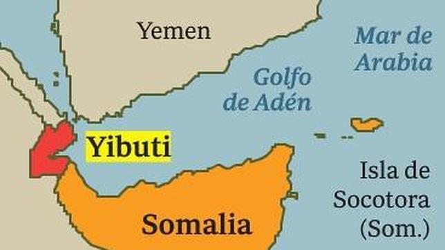 Heridos tres militares del Ejército del Aire en un ataque con granadas en Yibuti