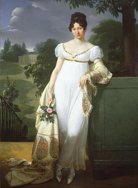 Josefina impuso la moda de las pashminas, desterró el corsé y creó el corte imperio