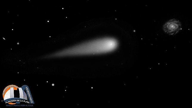 Un nuevo y espectacular cometa se acerca a la Tierra desde los confines del Sistema Solar