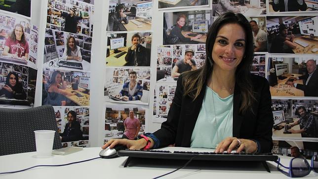 Mónica Carrillo durante el chat en ABC.es