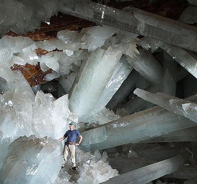 La cueva de los cristales gigantes, el prodigio de México