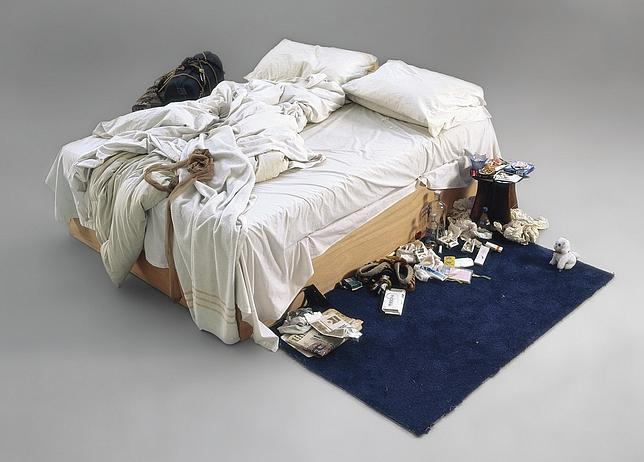 «My Bed» (1998), de Tracey Emin