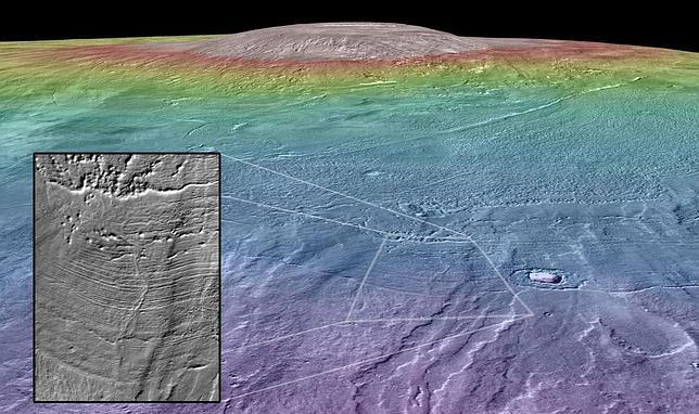 ¿El último lugar habitable en Marte?