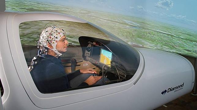 Pilotan aviones con la mente sin licencia de vuelo ni experiencia