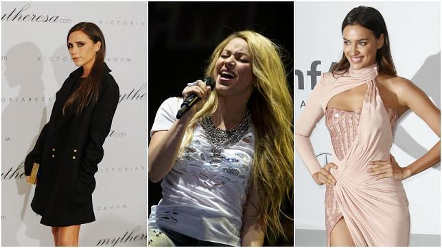 ABC. Victoria Beckham, Shakira o Irina Shayk son algunas de las «WAG» más famosas.