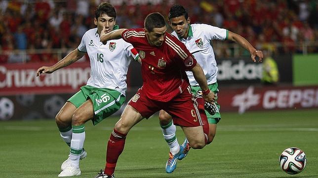 España coge ritmo ante Bolivia