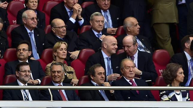 Rajoy: «Aunque soy presidente del Gobierno, soy del Madrid»