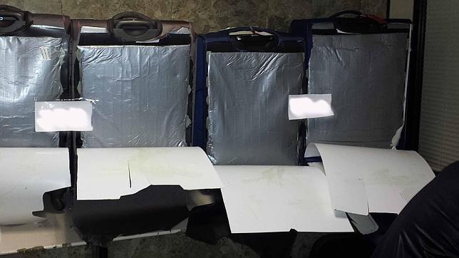 Hallan 11 kilos de cocaína teñida de gris destinada a discotecas de Ibiza