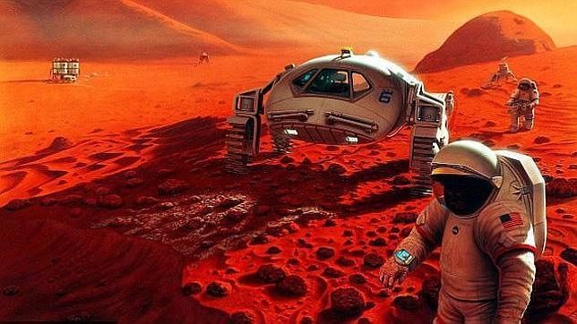 La NASA confirma su intención de mandar humanos a Marte en 2035