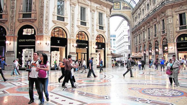 Milán, donde el lujo no entiende de crisis
