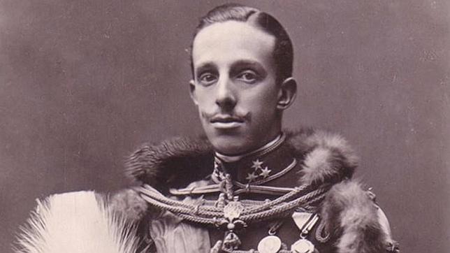 Fotografía del Rey Alfonso XIII