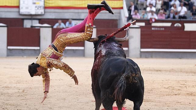 Dramática pelea de Venegas con un cuadri en San Isidro