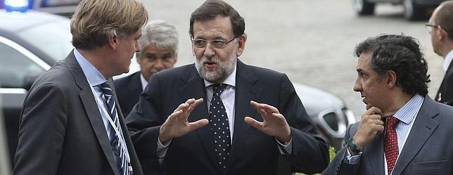 Rajoy llega a Bruselas para participar en la reunión del PP Europeo