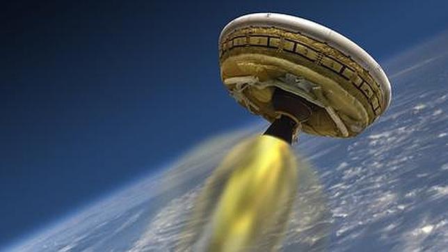 La NASA prueba su «platillo volante» para ir a Marte