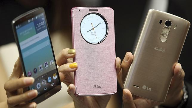 En la imagen un nuevo LG G3