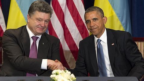 Obama avala al nuevo presidente ucraniano como una «sabia elección»