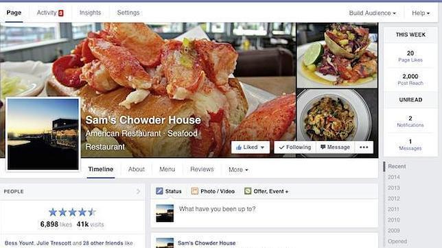 Facebook despliega el nuevo diseo para pginas en todo el mundo forumfinder Image collections