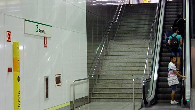 Amistat-Casa de Salud, la primera parada del Metro de Valencia con patrocinio