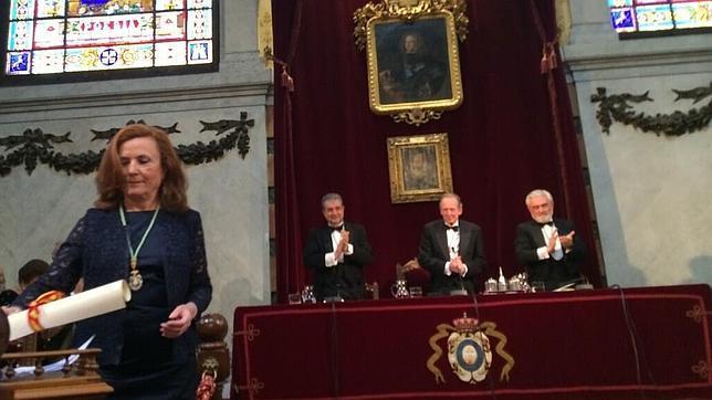 Aurora Egido, novena mujer en ingresar en la Real Academia Española