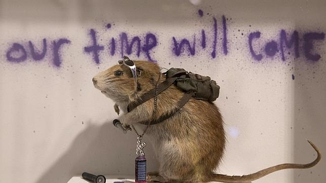 Callejera Una Colección En Piezas Subasta Sotheby's La De Banksy rdoeBQCxWE