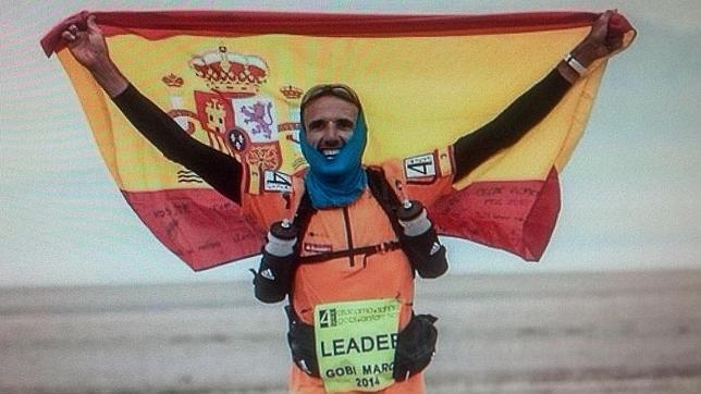 Chema Martínez gana un ultramaratón en el desierto chino de Gobi