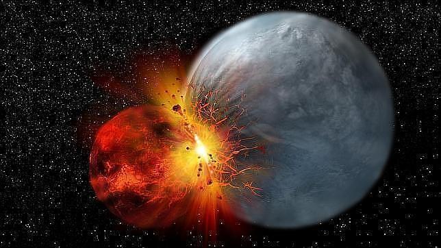 Identifican «rastros» de la antigua Tierra, anterior a la Luna