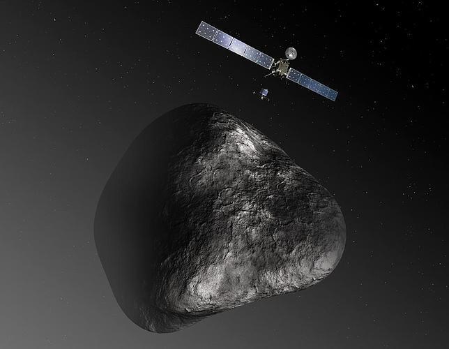 La nave Rosetta, al abordaje del cometa