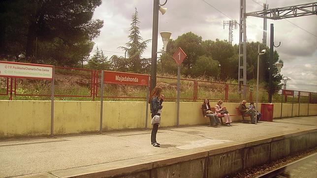 La estación de Renfe-Cercanías en Majadahonda