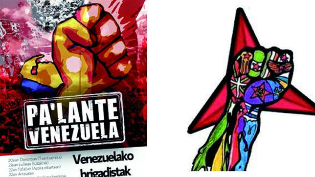 Proetarras, chavistas y ultraizquierdistas, unidos en la amenaza