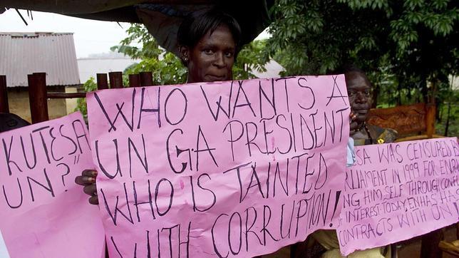 El ministro de Exteriores ugandés Sam Kutesa, nuevo presidente de la Asamblea General de la ONU