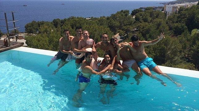 Novak Djokovic en Ibiza