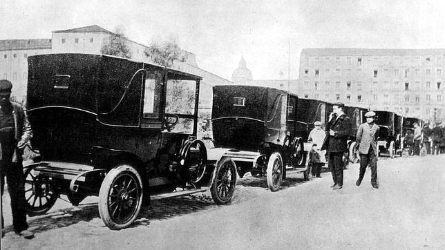 Los primeros taxis de «precio soportable»