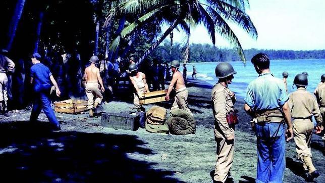 En Guadalcanal arranca el contraataque de EEUU