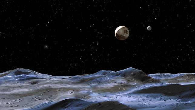 Caronte, luna de Plutón, pudo albergar un océano