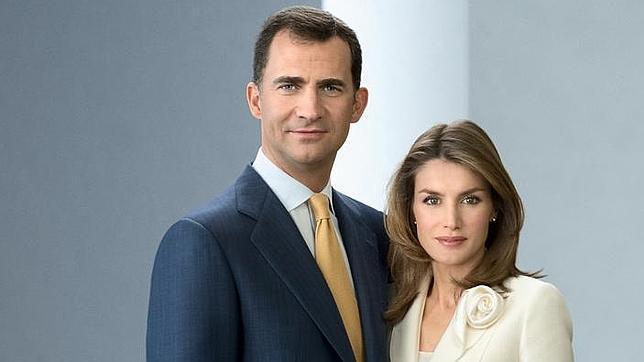 La imagen de los Príncipes de Asturias usada para los carteles repartidos por la CEIM