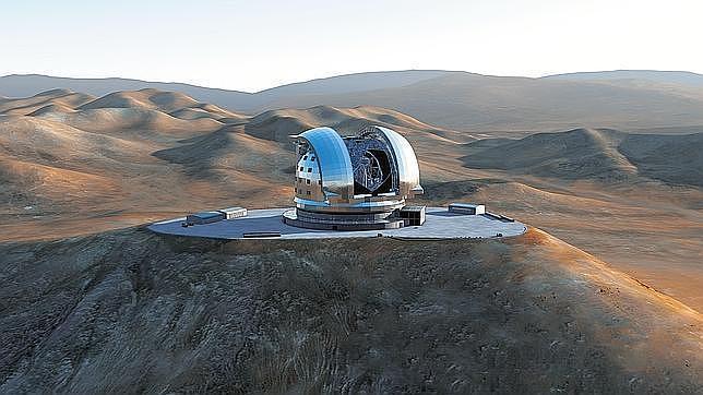 La espectacular voladura de una montaña dará paso al mayor telescopio del mundo