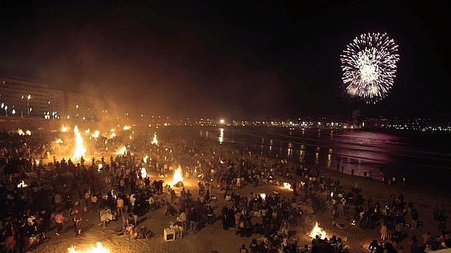 Arrancan las fiestas del San Juan coruñés