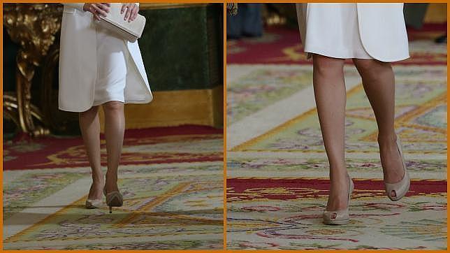 El Los Que Letizia Usó Zapatos Cuatro Doña Misterio De tsxCdBhQr