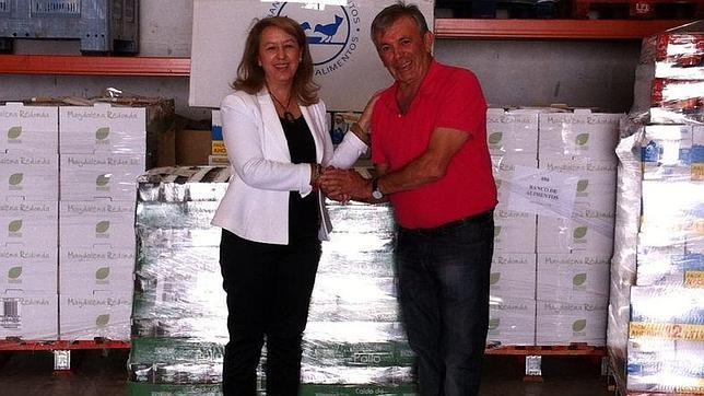 Mercadona entrega 2,7 toneladas de productos al Banco de Alimentos
