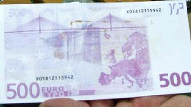Las inspecciones han corroborado que las operaciones con billetes de 500 euros están comunmente asociadas con operaciones a espaldas de la tributación.